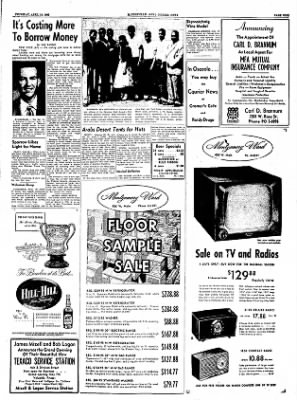 The Courier News from Blytheville, Arkansas on April 14, 1955 · Page 9