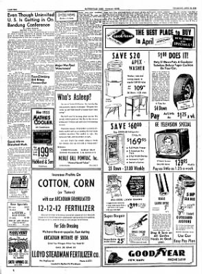 The Courier News from Blytheville, Arkansas on April 21, 1955 · Page 10