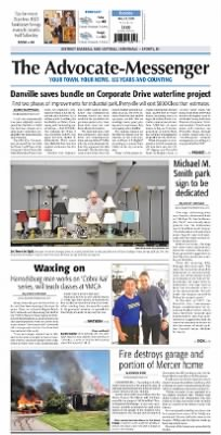 the advocate messenger from danville kentucky on may 22 2018 a01
