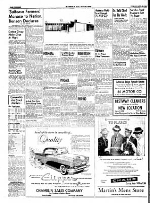 The Courier News from Blytheville, Arkansas on April 26, 1955 · Page 14