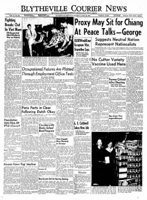 The Courier News from Blytheville, Arkansas on April 28, 1955 · Page 1