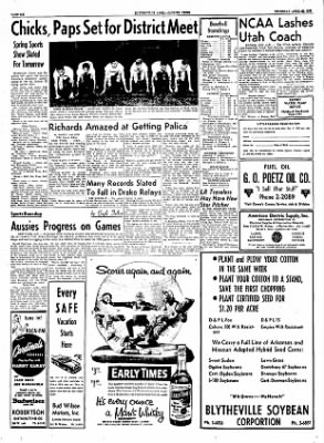The Courier News from Blytheville, Arkansas on April 28, 1955 · Page 6