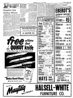 The Courier News from Blytheville, Arkansas on April 28, 1955 · Page 14