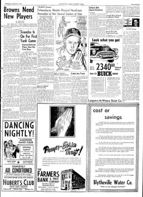 The Courier News from Blytheville, Arkansas on August 3, 1953 · Page 7