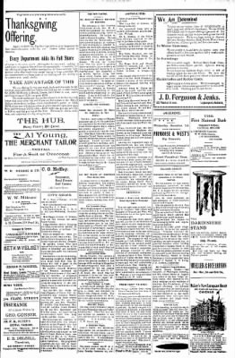 Logansport Pharos-Tribune from Logansport, Indiana on November 29, 1897 · Page 3