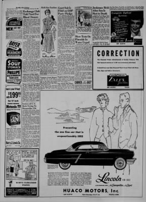 The Waco News-Tribune from Waco, Texas on February 20, 1952 · Page 6