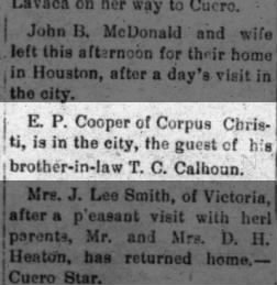 The Weekly Advocate from Victoria, Texas on January 9, 1904 · 4