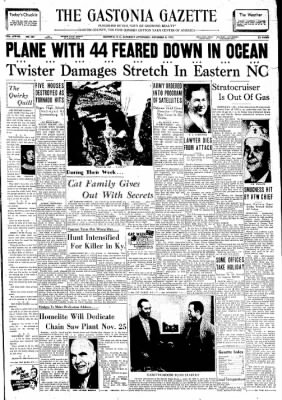 The Gastonia Gazette from Gastonia, North Carolina on November 9, 1957 · Page 8