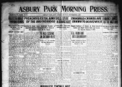 Asbury Park Morning Press