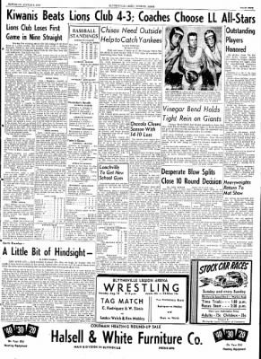 The Courier News from Blytheville, Arkansas on August 8, 1953 · Page 5