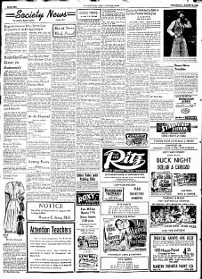 The Courier News from Blytheville, Arkansas on August 12, 1953 · Page 1