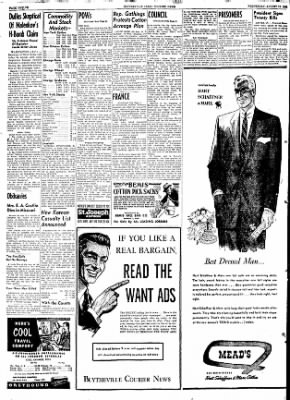 The Courier News from Blytheville, Arkansas on August 12, 1953 · Page 7