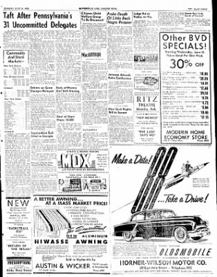 The Courier News from Blytheville, Arkansas on June 24, 1952 · Page 2