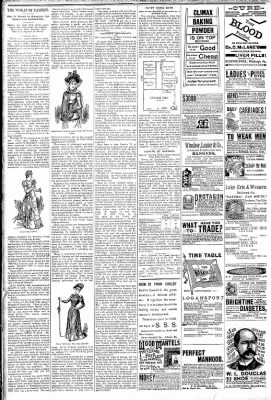 Logansport Pharos-Tribune from Logansport, Indiana on March 28, 1891 · Page 6