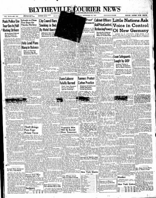The Courier News from Blytheville, Arkansas on November 26, 1947 · Page 1