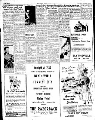 The Courier News from Blytheville, Arkansas on November 26, 1947 · Page 14