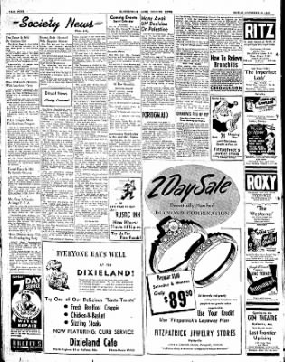 The Courier News from Blytheville, Arkansas on November 28, 1947 · Page 4