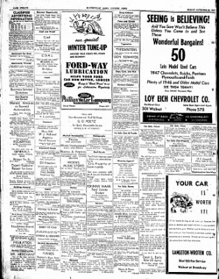 The Courier News from Blytheville, Arkansas on November 28, 1947 · Page 12