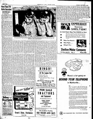 The Courier News from Blytheville, Arkansas on December 1, 1947 · Page 2