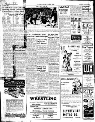 The Courier News from Blytheville, Arkansas on December 1, 1947 · Page 8