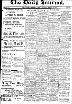 Logansport Pharos-Tribune from Logansport, Indiana on March 15, 1895 · Page 1