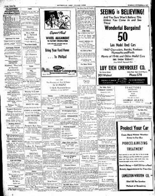 The Courier News from Blytheville, Arkansas on December 2, 1947 · Page 12