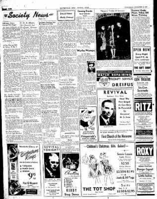 The Courier News from Blytheville, Arkansas on December 3, 1947 · Page 4