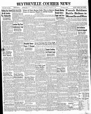 The Courier News from Blytheville, Arkansas on December 4, 1947 · Page 1
