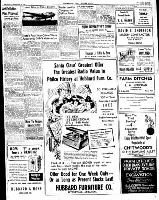 The Courier News from Blytheville, Arkansas on December 4, 1947 · Page 11