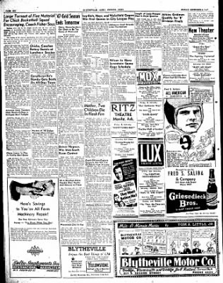 The Courier News from Blytheville, Arkansas on December 5, 1947 · Page 6