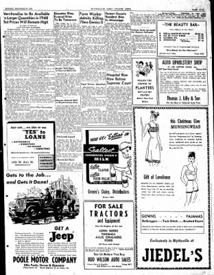 The Courier News from Blytheville, Arkansas on December 8, 1947 · Page 5