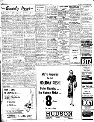 The Courier News from Blytheville, Arkansas on December 9, 1947 · Page 4