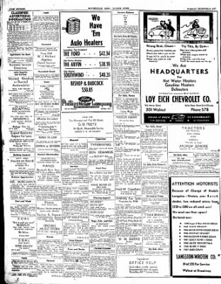 The Courier News from Blytheville, Arkansas on December 9, 1947 · Page 16