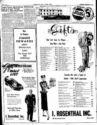 The Courier News from Blytheville, Arkansas on December 11, 1947 · Page 2
