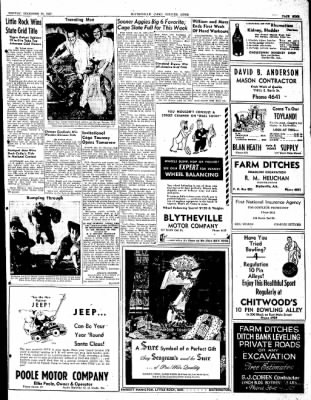 The Courier News from Blytheville, Arkansas on December 15, 1947 · Page 9