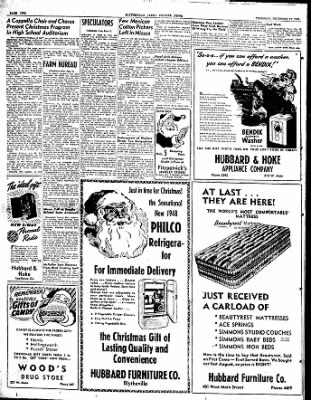 The Courier News from Blytheville, Arkansas on December 18, 1947 · Page 2