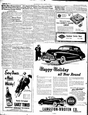 The Courier News from Blytheville, Arkansas on December 18, 1947 · Page 6