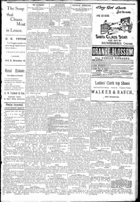 Logansport Pharos-Tribune from Logansport, Indiana on March 29, 1891 · Page 3