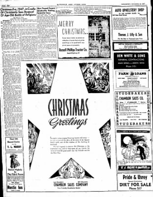 The Courier News from Blytheville, Arkansas on December 24, 1947 · Page 10