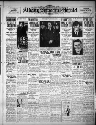 Albany Democrat-Herald from Albany, Oregon on April 8, 1936 · 1