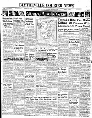 The Courier News from Blytheville, Arkansas on January 1, 1948 · Page 1