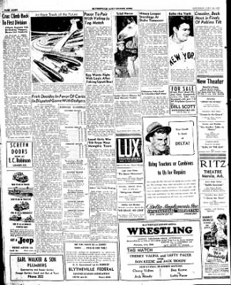 The Courier News from Blytheville, Arkansas on July 26, 1947 · Page 8