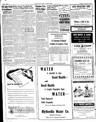 The Courier News from Blytheville, Arkansas on January 6, 1948 · Page 8