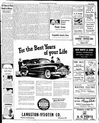The Courier News from Blytheville, Arkansas on July 28, 1947 · Page 7
