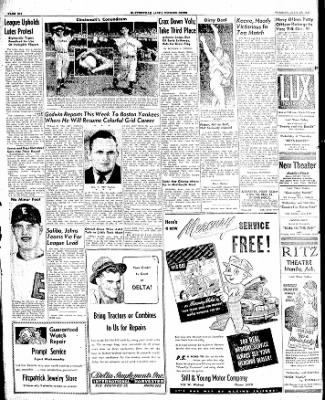 The Courier News from Blytheville, Arkansas on July 29, 1947 · Page 6