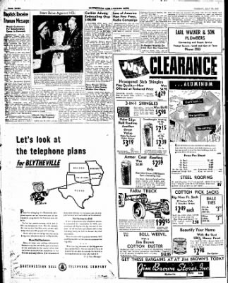 The Courier News from Blytheville, Arkansas on July 29, 1947 · Page 8