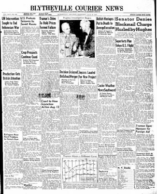 The Courier News from Blytheville, Arkansas on July 30, 1947 · Page 1