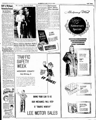 The Courier News from Blytheville, Arkansas on July 30, 1947 · Page 3