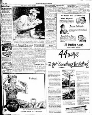 The Courier News from Blytheville, Arkansas on July 30, 1947 · Page 4