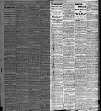 Front page feature details events of Johnstown Flood, known locally as